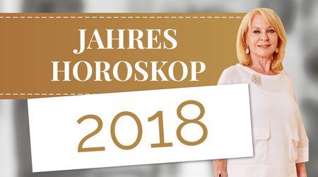 Titelbild des E-Books Jahreshoroskop 2018 von Gerda Rogers