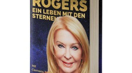 """Buchcover von Gerda Rogers neuem Buch """"Ein Leben mit den Sternen"""""""
